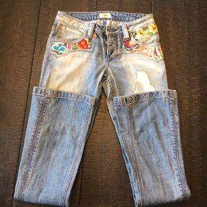 Antik vintage style jeans 🧡❤️💛💚💜💙